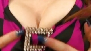 Kou gets tits fondled and pussy poked before giving stunning blowjob Thumbnail