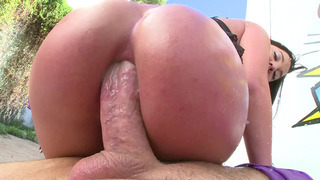 Amara Romani anally rides and sucks his shaft ass to mouth Thumbnail