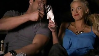 Horny sexy ladies drinking and have fun with nasty guys Thumbnail