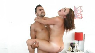 Youthful honey is lured by dude into having sex Thumbnail