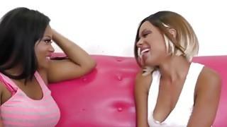 Sexy Black Girls Scissor Their Pussies Until They Cum Thumbnail