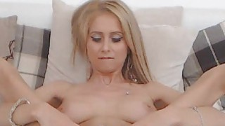 Sexy Petite Blonde Teen Strips Down On Webcam Thumbnail