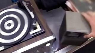 Cumshot 3 and swedish blowjob Vinyl Queen! Thumbnail