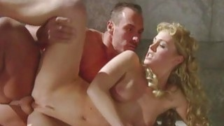 Barby and Lynn Stone Dped in a Roman Orgy Thumbnail