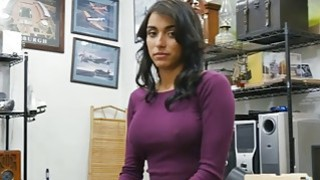 Kinky big boobs babe gets her pussy fucked by pawn dude Thumbnail