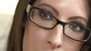 Horny milf Dava Foxx gets her tight pussy stretched Thumbnail