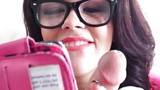 Mofos  Sexy teen takes some cock sucking selfies Thumbnail