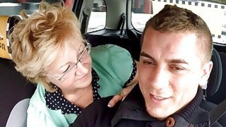 Czech Mature Blonde Hungry for Taxi Drivers Cock Thumbnail