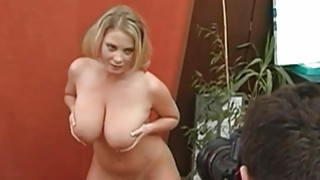 Large tits babe charms a 10pounder with riding Thumbnail