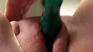 USAWives mature lady Jade solo masturbation Thumbnail