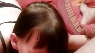 Beautiful SKinny Doll Eating Ass Thumbnail