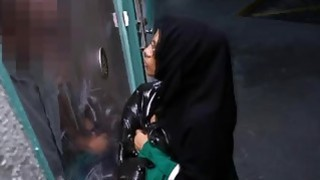 Beautiful Arab teen gets banged for a free hotel room Thumbnail
