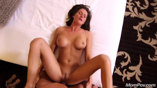 Amateur MILF shooting her first adult video Thumbnail