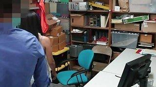 Shoplifters Bonnie And Maya Take Schlong In Office Thumbnail