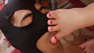 Slaves Mouth Cleans Anne and Junes Feet! Thumbnail