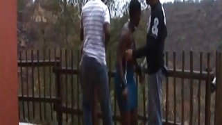 African slaves get tied and tortured outdoors Thumbnail