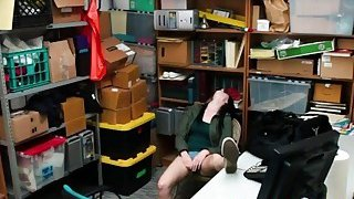 Teen Thief Alex Got Forced Into Banging In Office Thumbnail