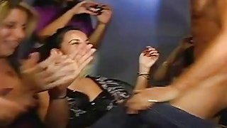 Drunk angels engulfing the schlongs