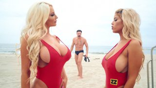 Bigtit Bridgette B and Nicolette Shea play with each other Thumbnail