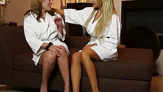 Stunning Sasha Heart and Alluring Alex Lynx in the best lesbian scene ever Thumbnail