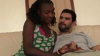 Slutty African babe gets banged in doggy style Thumbnail