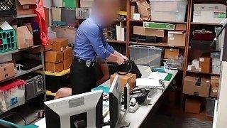 LP Officer fuck Shaine Blairs pussy balls deep