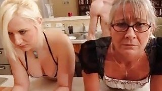 Training the mom and his bitch to obey during roleplay Thumbnail