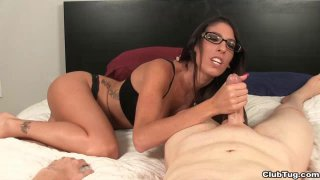 POV Sexy Teen Strokes Your Cocks Her Way With Sexy Thumbnail