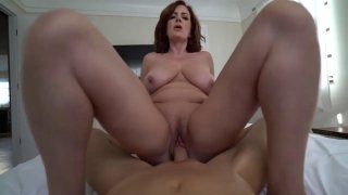 Big butt mature babe pleasures hard young prick in POV Thumbnail