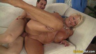 Big tits mature Mandy McGraw gets banged Thumbnail