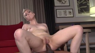 Short haired babe takes a BBC up the ass hard Thumbnail