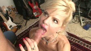 Horny milf Crystal White gets horny for young guitar player Thumbnail