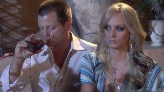 Blondie Janet Mason cheats her husband and sucks a neighbor's cock Thumbnail