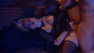 Blond head  with heavy makeup Alexis Texas gets fucked mish tough Thumbnail