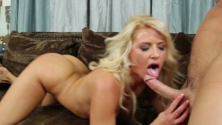 Anikka Albrite rides cock and gets her pussy fucked Thumbnail