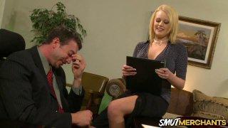 Hot Secretary Codi Cormichael Shows Her Boss Why She Deserves a Raise Thumbnail
