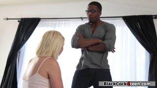 Teen babe seduces bfs black stepdad Thumbnail