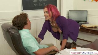 Professor Anna Bell Peaks Gives a Good Lesson… And Head Thumbnail